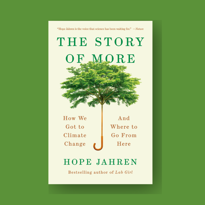 The Story of More - Hope Jahren Cover